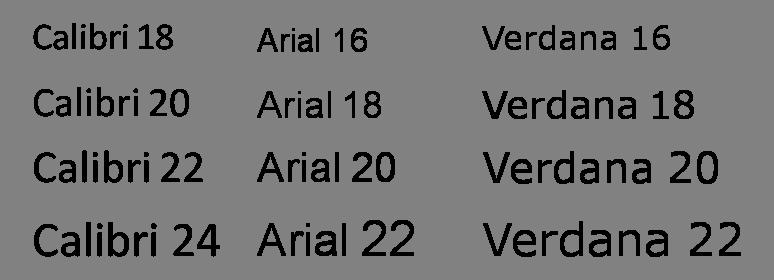 Arial 20 Black Font