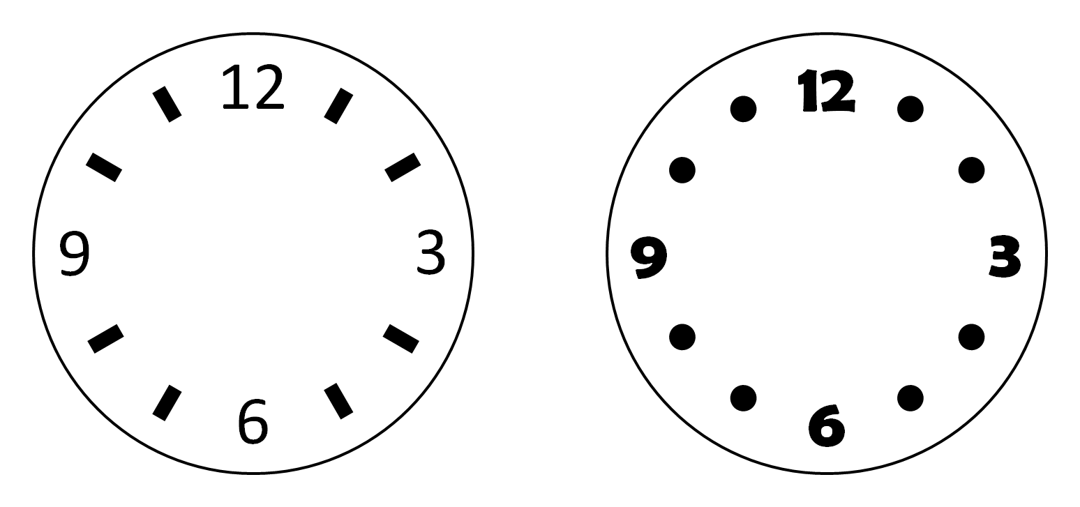 Drawing In Powerpoint Clock Icons Powerpointy