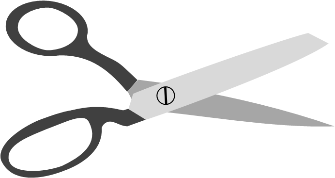 animations for cutting slashing and trimming scissors powerpointy